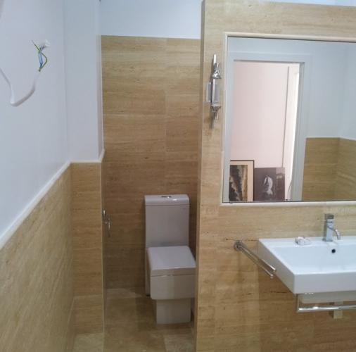 Trawertyn Classico,łazienka.